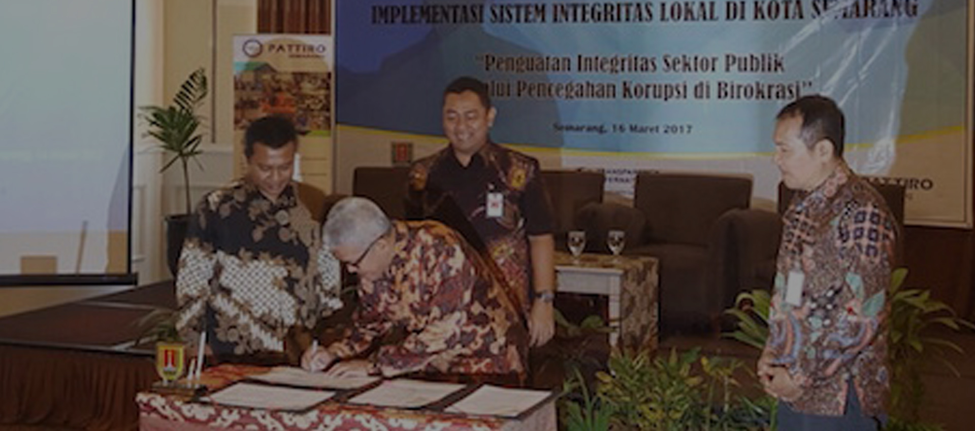 Cegah Korupsi, Pemkot Gandeng Pattiro dan TI Indonesia