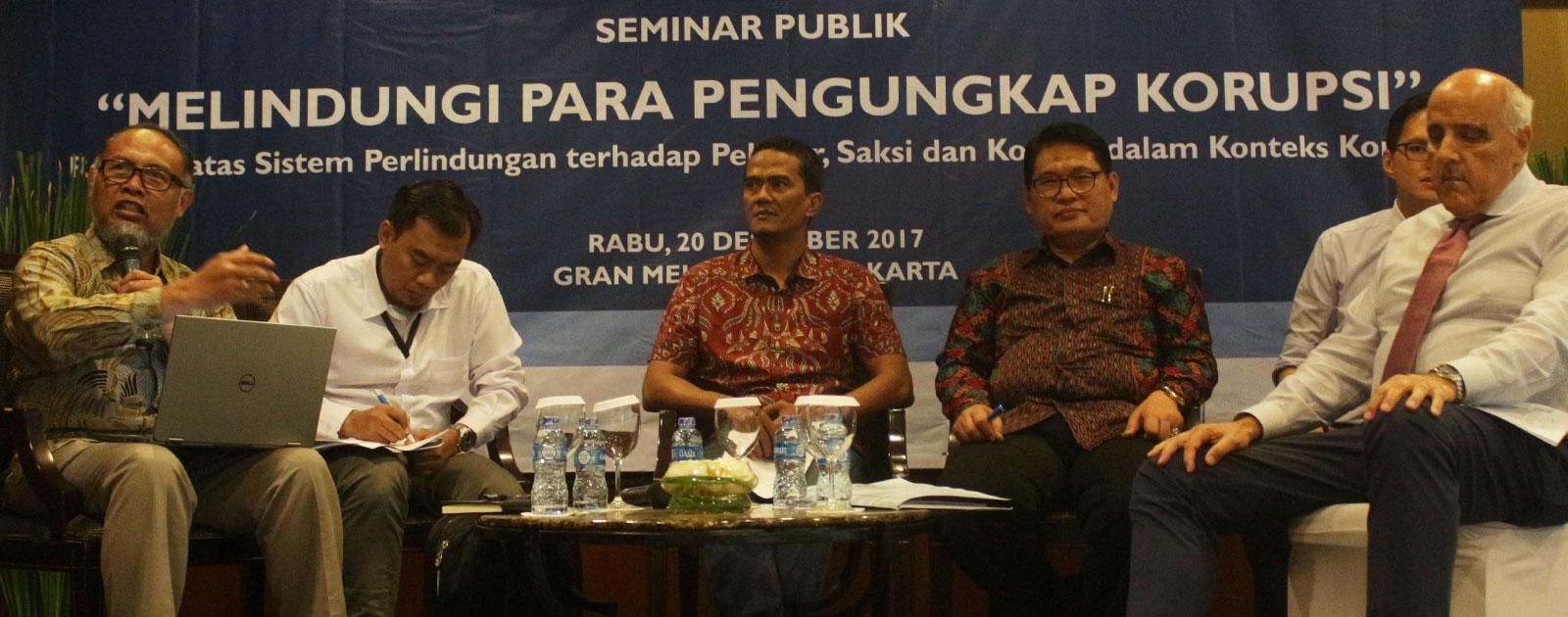 TII: Ada 100 Kasus Ancaman Penyerangan Pelapor Korupsi Sejak 2004
