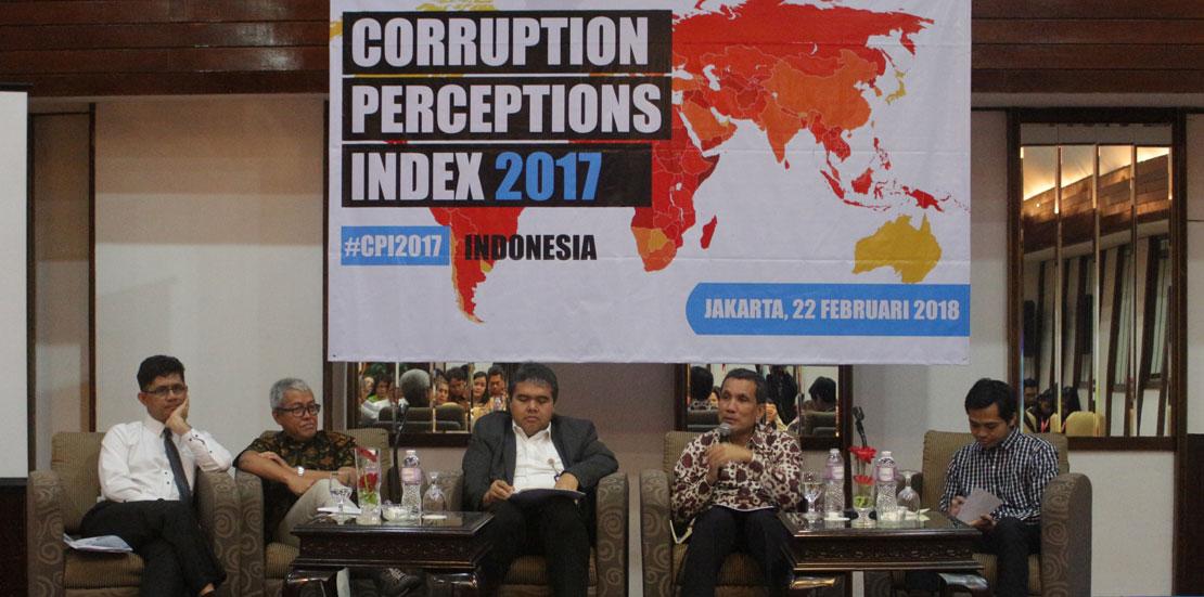 CPI 2017: Menera Korupsi di Tahun Politik