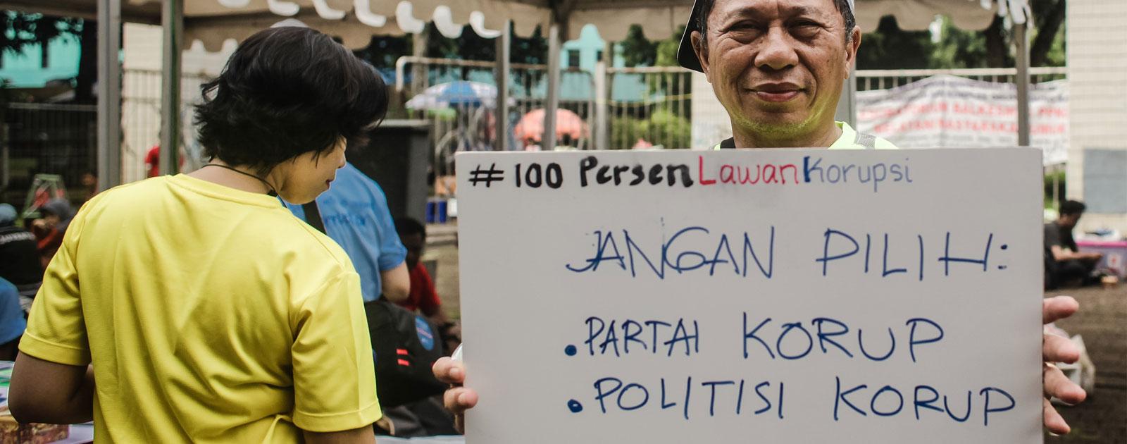 Jangan Pilih Calon Anggota Legislatif Koruptor!