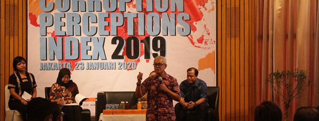 Peluncuran Corruption Perceptions Index 2019